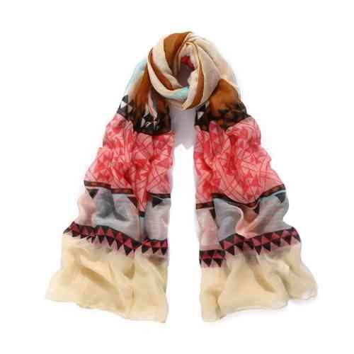 gestreifter Damen Schal
