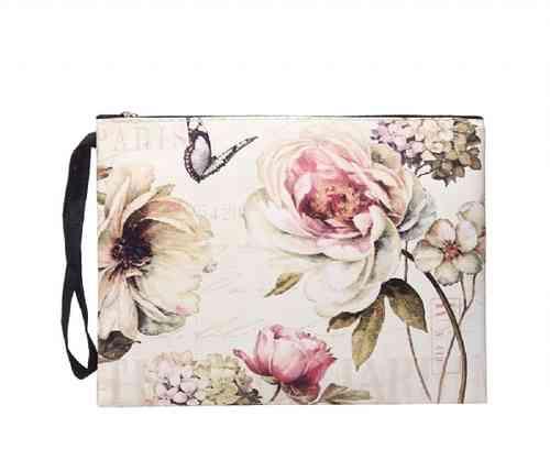 Tasche mit Vintage-Blumen