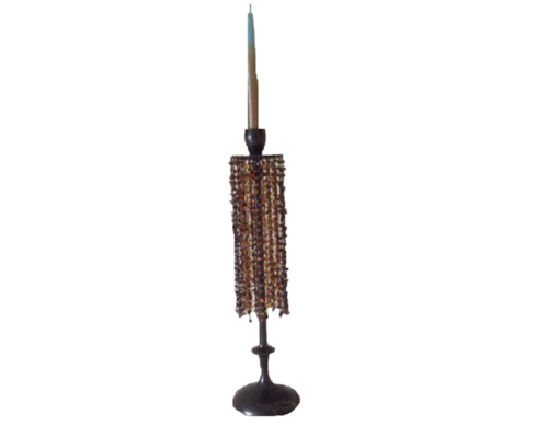 Kerzenleuchter Perlen-Dekor