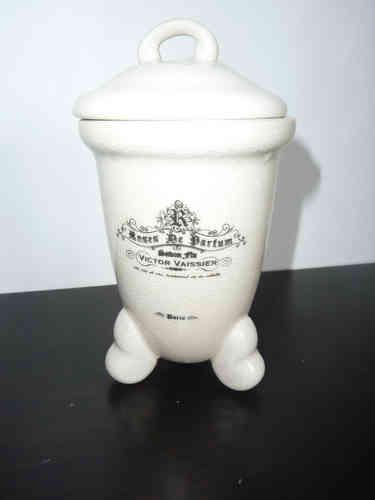 Keramik Dose weiß