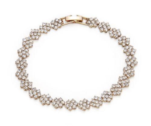 Armband weiße Steinchen