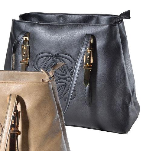 Tasche Shopper schwarz