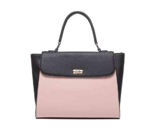Tasche rosa schwarz