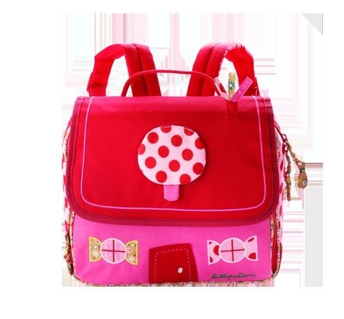 Kinder Kindergartentasche LIZ als Rucksack pink