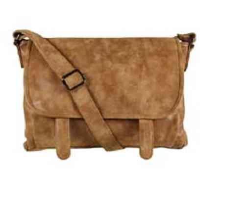 Trendige Damen Tasche camel