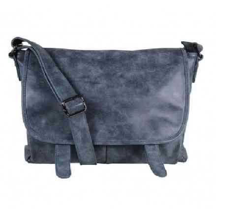 Trendige Damen Tasche blau