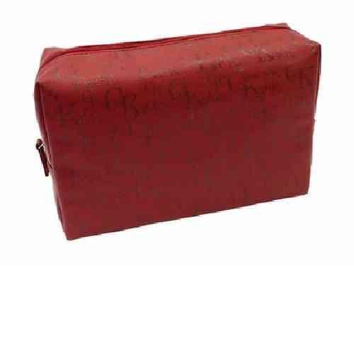 Kulturtasche rot