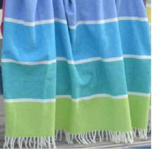 Plaid blau-grün Couchdecke Decke
