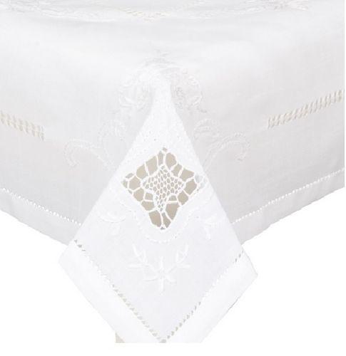 Tischdecke weiß904