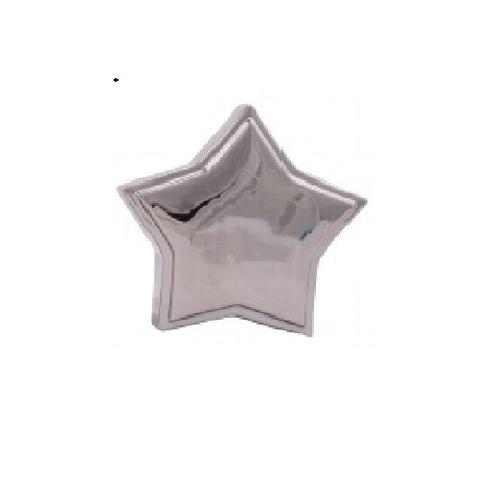 Stern silber groß