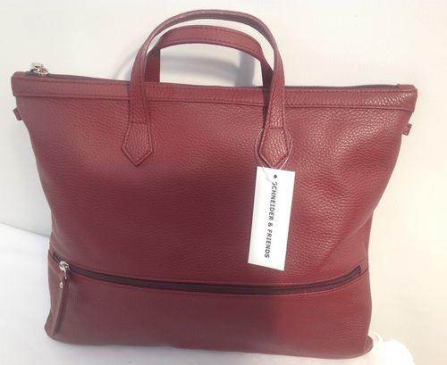 Damen Handtasche burgundy
