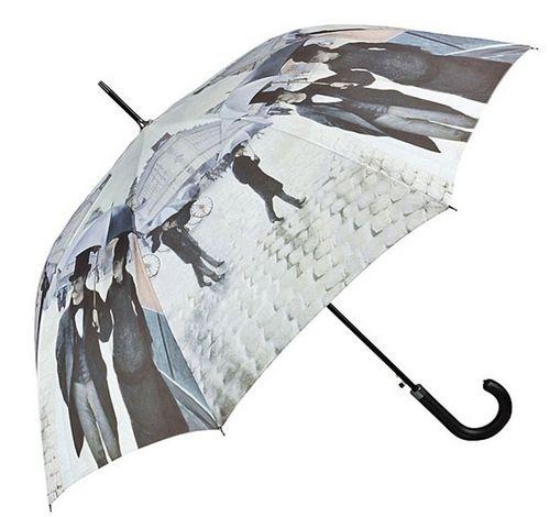 Stockschirm im Regen