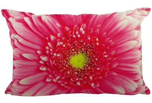 Kissen rosa Blume
