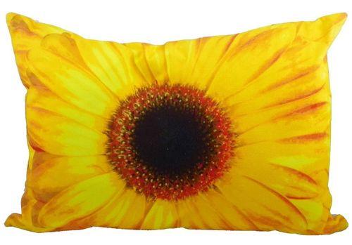 Kissen gelbe Blume