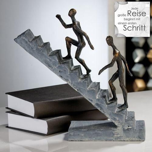 Skulptur Treppenläufer