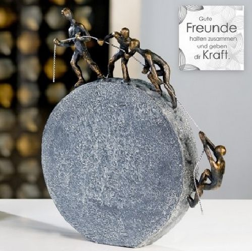 Skulptur Lifting 35x31cm