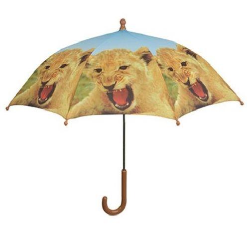 Kinder Regenschirm Löwe