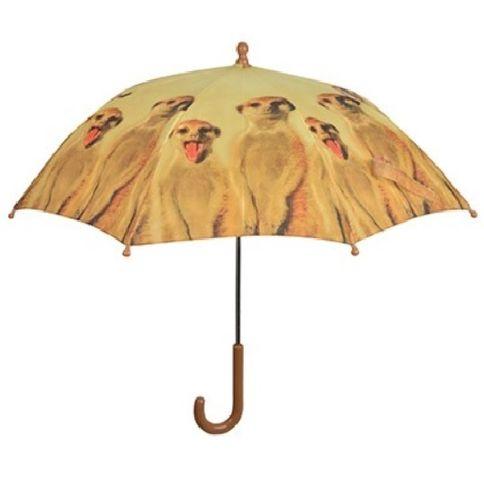 Kinder Regenschirm Erdmännchen