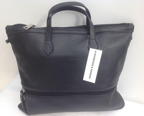 Damen Handtasche schwarz