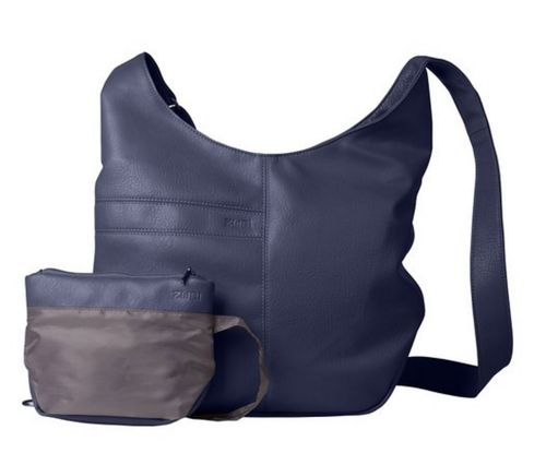 ZWEI Shopper Hobo blau