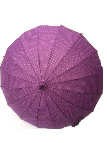 Stockschirm lila