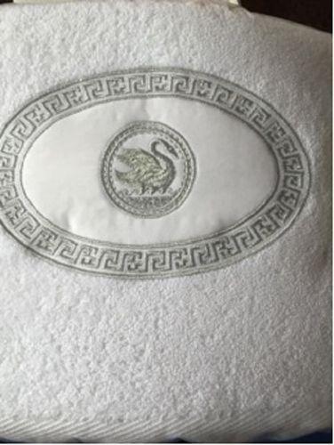 Handtuch Schwan bestickt