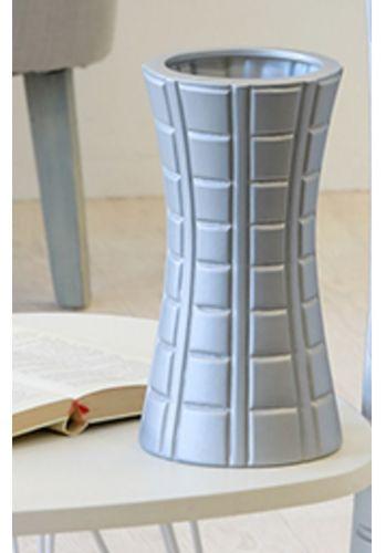 Vase blau H 28 cm