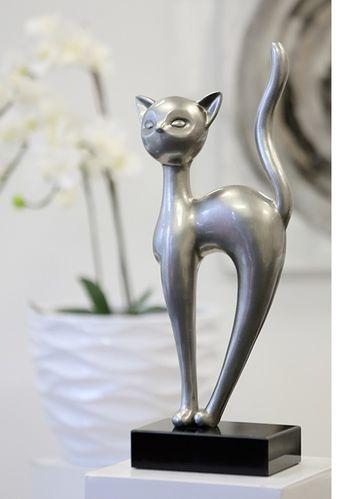 Skulptur Katze