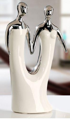 """Skulptur """"hand in hand"""""""