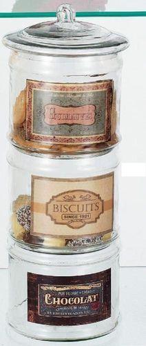 Glasdosen Biscuit