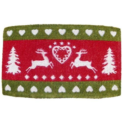 Matte Weihnachten Hirsch Herzen