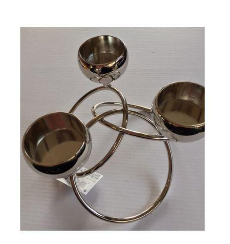 edles 3er Teelichthalter
