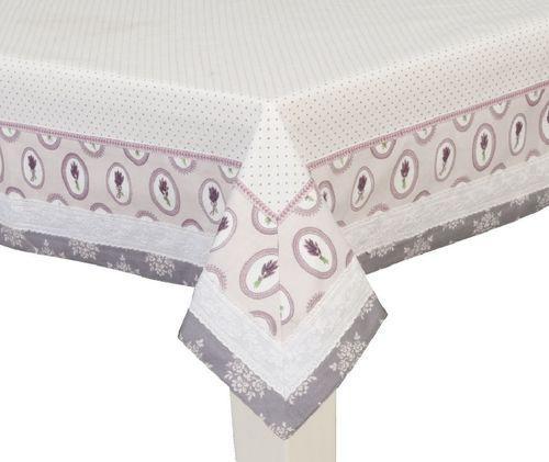 Tischdecke Lavendel 150x250