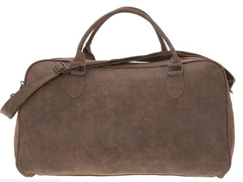 Reisetasche Bestway braun PU