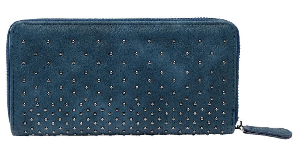 3b1b0aebd4f68a Damen Geldbörse nieten blau kaufen - Dekoik Online Shop