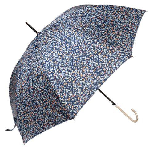 Stockschirm Streublümchen blau