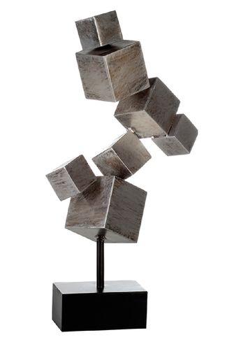 Skulptur Cubes Würfel