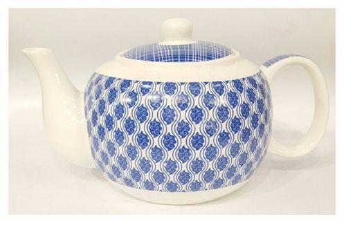 Teekanne blau Paisley
