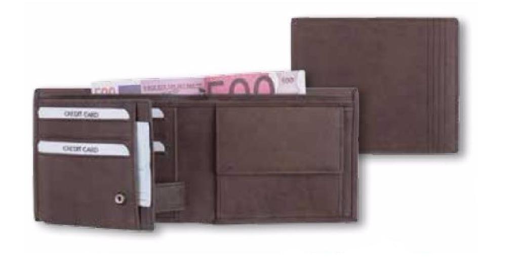 deba504181dca5 Leder Geldbörse RFID braun kaufen - Dekoik Online Shop