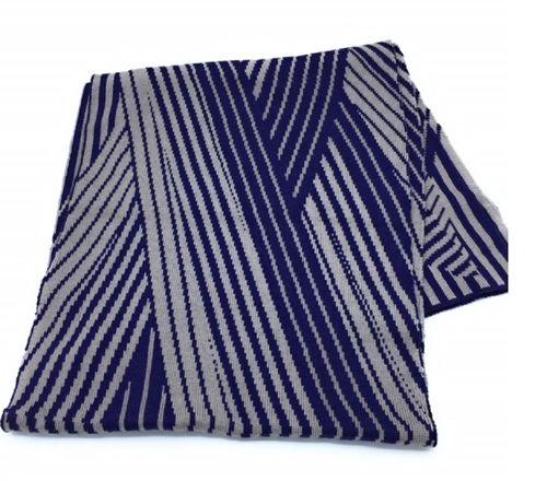 Herren Schal blau