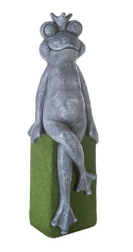 gr-Frosch auf Base