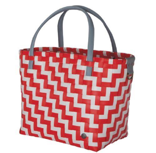 Shopper rot-weiß
