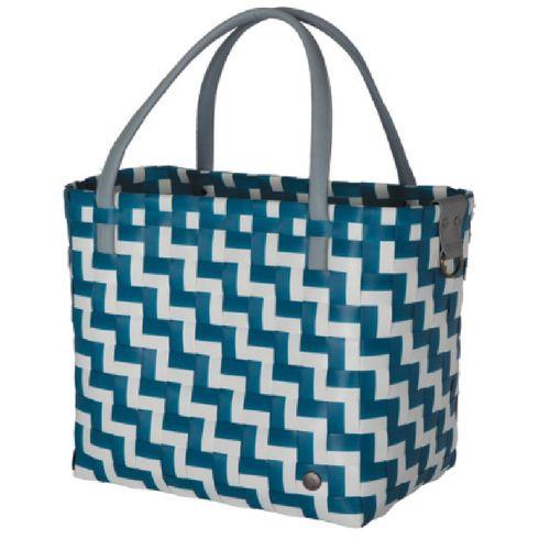 Shopper blau-weiß