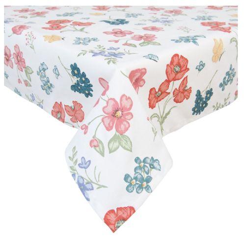 Tischdecke Fielt Blumen 150x250