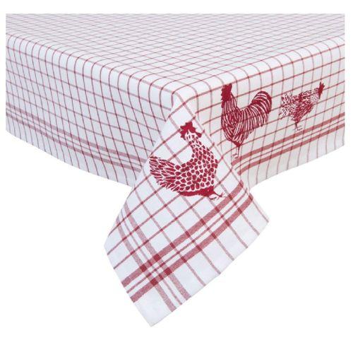 Tischdecke Hühner 150 x 150