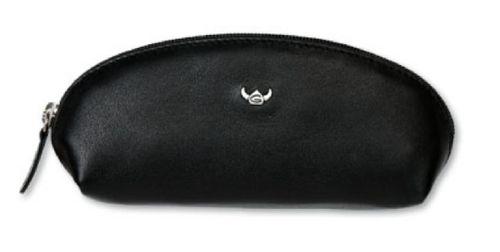 Leder Schlüsseletui Polo schwarz1