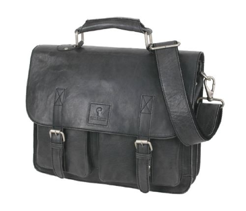 Bull & Hunt business bag washed black