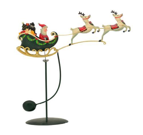 Weihnachtsdeko Wippe 48 cm