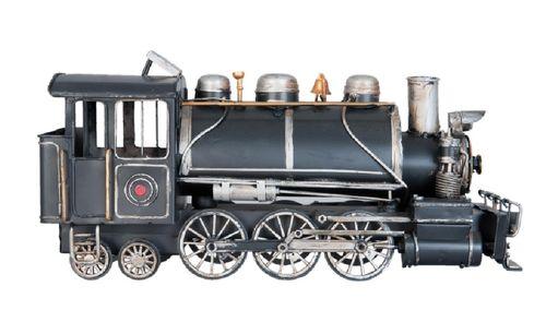 Modell Lokomotive schwarz