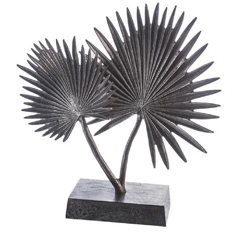 Skulptur Palme Baum